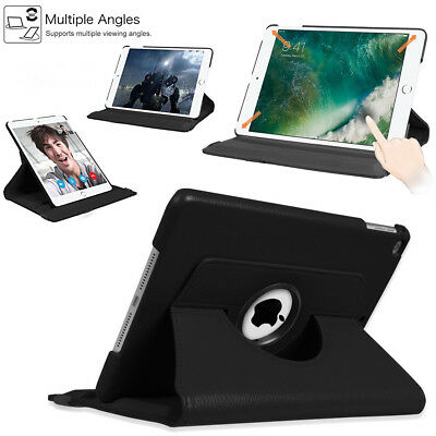 """Leather Stand Case Cover For Apple iPad 9.7"""" (5th & 6th Generation 2017/2018)"""