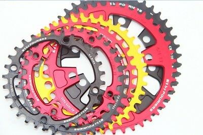 Fouriers BCD104 Circle Chainring 1xSystem Narrow Wide 40T 42T 46T48T 50T 52T 54T