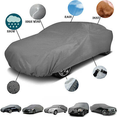 Outdoor Car Cover Waterproof Rain UV For Subaru Impreza Saloon 2005 - 2008