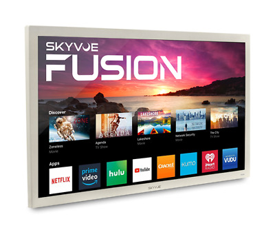 "SkyVue Fusion 43"" 400NIT 4K SMART OUTDOOR TV Weatherproof Tv Black Friday Sale!!"