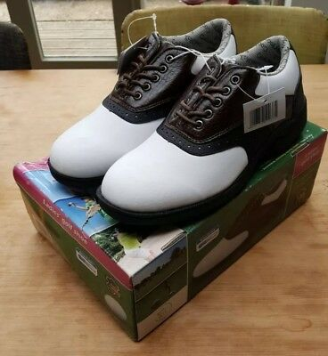 AXION LADIES GOLF Shoes Size 7.5 Brand New With Box - £13.00 ... 0c3082a66d9