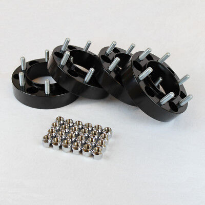 """4 pcs Chevy Colorado Hub Centric Wheel Spacers Adapters fits 6 lug 6x120 1.5"""""""