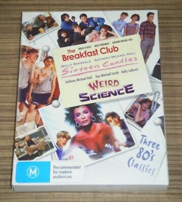 Pre-Owned DVD - The Breakfast Club / Sixteen Candles / Weird Science [A1]