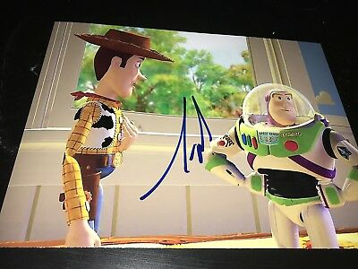 TIM ALLEN SIGNED AUTOGRAPH 8x10 PHOTO BUZZ LIGHTYEAR TOY STORY IN PERSON COA E