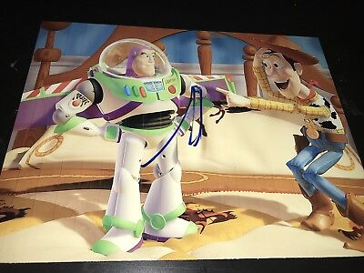 TIM ALLEN SIGNED AUTOGRAPH 8x10 PHOTO BUZZ LIGHTYEAR TOY STORY IN PERSON COA H