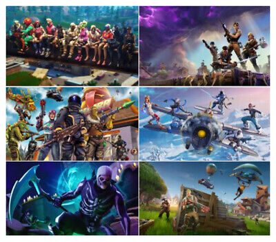 Fortnite Game Wall Poster Photograph Photo Art Prints 12x19 17x26 24x38inch