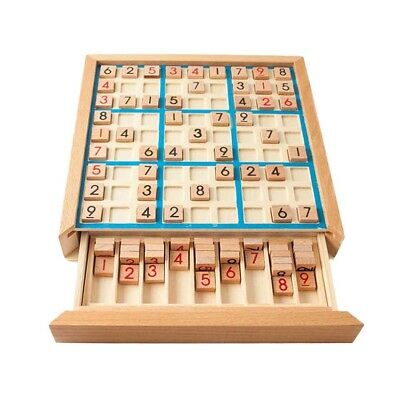 1pc Educational Reasoning Training Sudoku Board Game Table Toy for Children kids