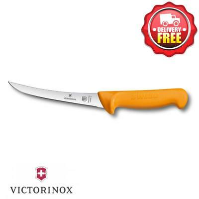 Victorinox Swibo Boning Knife 13cm Curved Blade Yellow | 5.8405.13