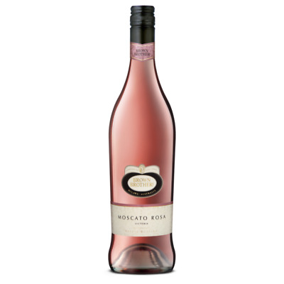 BROWN BROTHERS MOSCATO ROSA MOSCATO wine rosa