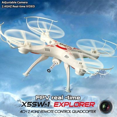 RC 2.4GHz 6-Axis Camera Drone Wifi HD FPV Quadcopter Altitude Hold Headless UFO