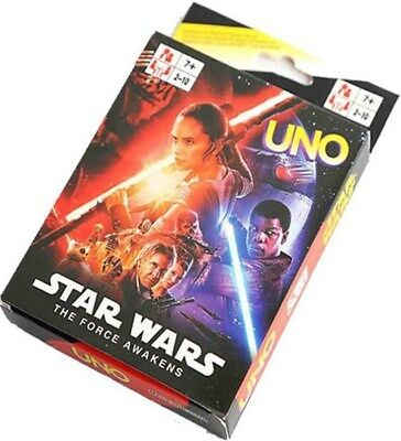 Star Wars UNO Cards Family Fun Playing Card Educational Toy Board Game