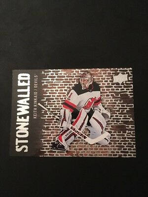 2018-19 Upper Deck Stonewalled Keith Kinkaid Devils! SW-33