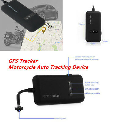 Universal GPS Tracker Motorcycle Auto Tracking Device Anti-theft Locator Tool