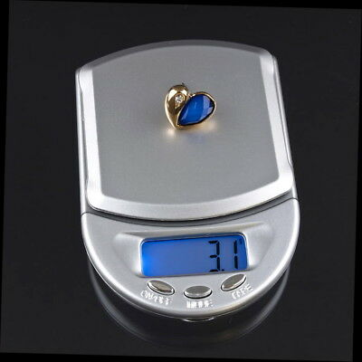 0.1g 500g Gram Digital Electronic Balance Jewelry Diamond Scale LCD WH-11 GON@