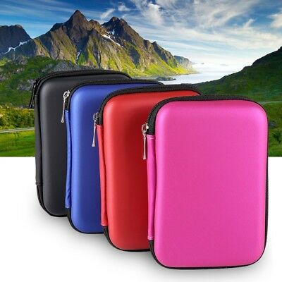 Portable External HDD Hard Disk Drive Protect Holder Carry Case Cover Pouch AU