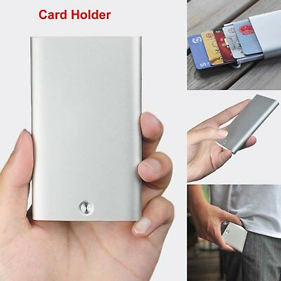 For Xiaomi Automatic Card Holder Slim Wallet Pop Up Aluminum Men ID Purse Case
