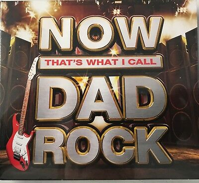 NOW THATS WHAT I CALL DAD ROCK (Various Artists) (3xCD) New Sealed Free P&P