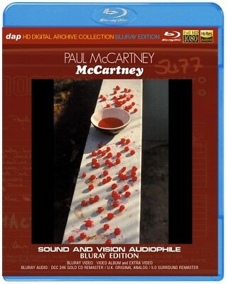 NEW PAUL McCARTNEY/ McCARTNEY SOUND AND VISION AUDIOPHILE : BLURAY EDITION##na