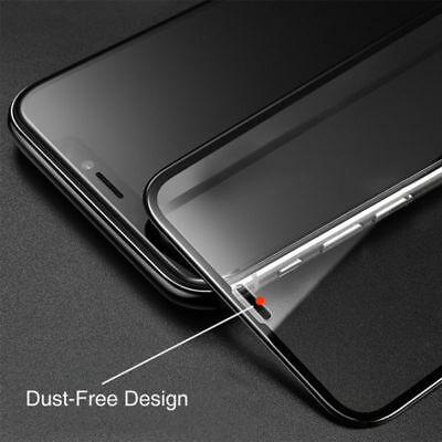 IPhone X 8 7 Plus Curved Full Coverage Tempered 6D Glass Screen Protector sy