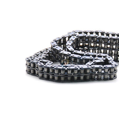 "#35-2 Double Strand Roller Chain Pitch 3/8"" 06B-2 Roller Chain x 1.5Meters"