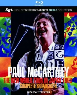 NEW PAUL McCARTNEY/THE NEW WORLD TOUR IN JAPAN 1993(2BDR)##na