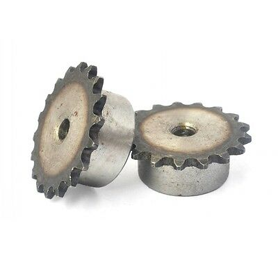 """#25 Chain Drive Sprocket 46T Pitch 1/4"""" 04C46T For 1/4"""" 04C #25 Roller Chain"""