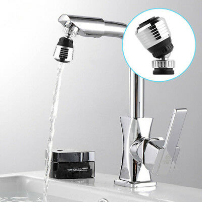 360 Rotate Faucet Nozzle Filter Adapter Tap Aerator Diffuser Kitchen AU&@J
