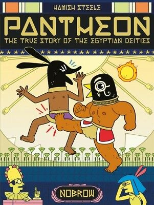 Pantheon : The True Story of the Egyptian Deities, Paperback by Steele, Hamis...