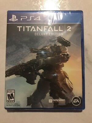🔫Brand New!!! Titanfall 2: Deluxe Edition (Sony PS4, 2016) Factory Sealed!!!🔫