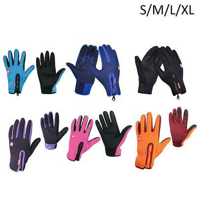 Sports Hiking Windproof Waterproof Touch Screen Thermal Gloves Mittens Winter