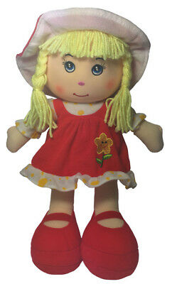 Teddy & Friends Rag Doll - Evie [35cm] Soft Plush Toy Ragdoll NEW