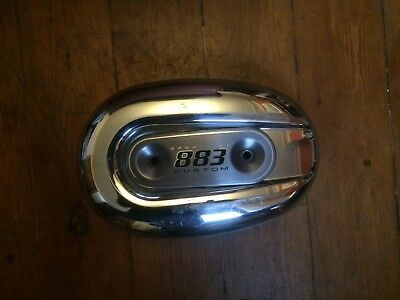 2005 Harley Davidson 883 / 1200 Sportster Chrome Airfilter Cover With Inlay