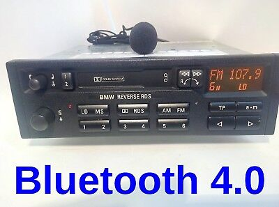 BMW Reverse RDS E34,E36 car stereo radio with Bluetooth music and hands-free