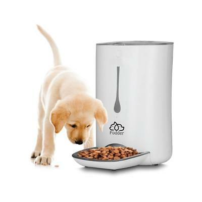 Smart Automatic Cay & Dog Food Dispenser - Digital Pet Feeder with Voice Message