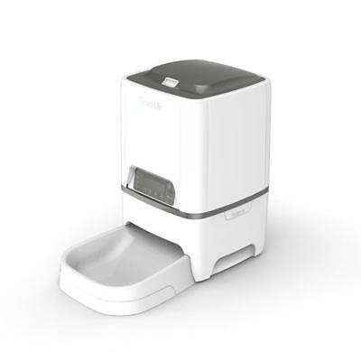 Smart Automatic Pet Feeder - Digital Pet Food Dispenser with Voice Recorder