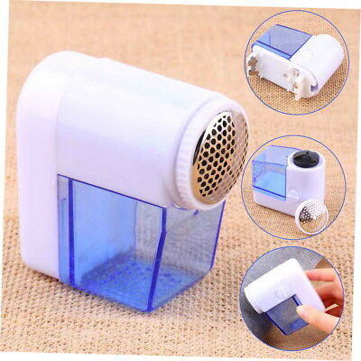 Mini Electric Fuzz Cloth Pill Lint Remover Wool Sweater Fabric Shaver Trimmer X&