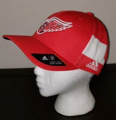 0dddf763 ... coupon code adidas detroit red wings nhl draft structured flex hat red  white l xl nwt