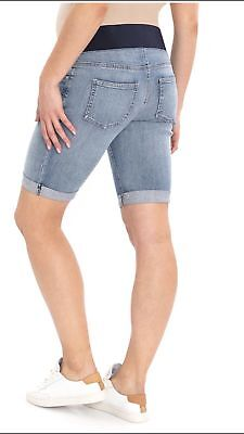 NEW Maternity Bermuda Jean Shorts Size M XL or XXL Great Expectations