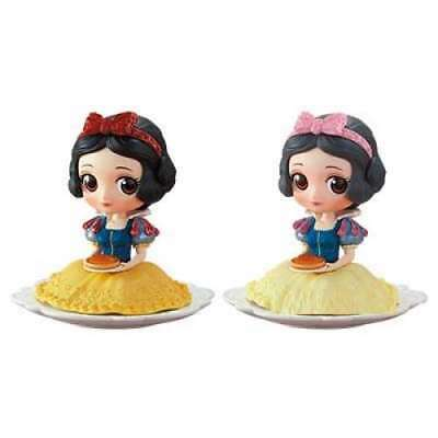Q Posket Disney Characters Snow White All 2 types set From Japan NEW