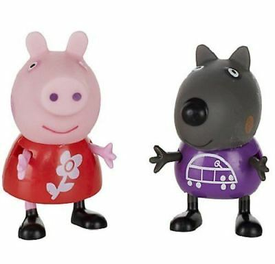 Peppa Pig Theme ParkTwin Pack Of Figures - PEPPA & DANNY DOG - NEW