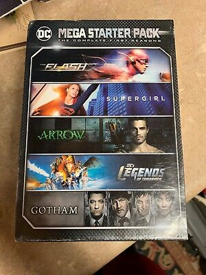 Dc Mega Starter Pack The Complete First Seasons NEW
