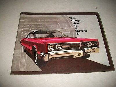 1967 Chrysler Full Size Car Sales Brochure New Yorker Newport 300 Town-Country