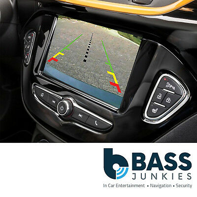 "Vauxhall Corsa 2016> 7"" R4.0 Intellilink MyLink Video Reverse Camera Interface"