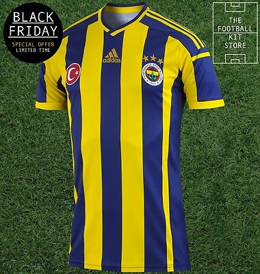 Fenerbahce Home Shirt - adidas Mens Football Jersey - * BLACK FRIDAY *