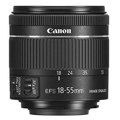 NEW Canon EF-S 18-55mm f4-5.6 IS STM Lens IN WHITEBOX Next day Special delivery