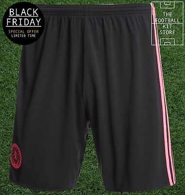 Scotland Away Shorts - Official adidas Football Shorts - Mens * BLACK FRIDAY *