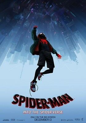 "Spider-man Into the Spider-verse (2018) 11""x17"" Authentic Movie Mini Poster!!"