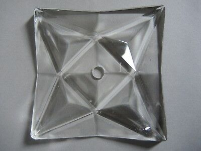 1-2 Kinkeldey Prisma Ersatzglas Replacement Crystal for Chandelier Lampe 10x10cm