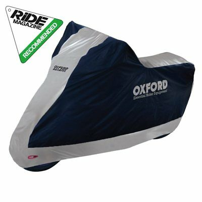 *NEW* Oxford AQUATEX Outdoor Motorcycle / Scooter Cover - SMALL (with topbox)