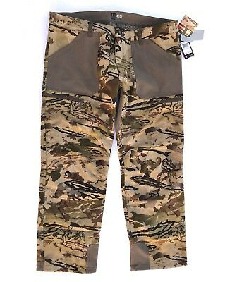d94d4a7ab2b45 Under Armour Ridge Reaper13 Late Season Hunting Camo Pants Mens 42x32 MSRP  $269